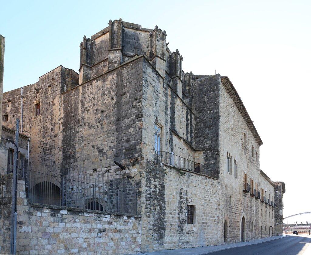 Тортоса. Епископский дворец. Palau Episcopal. Tortosa