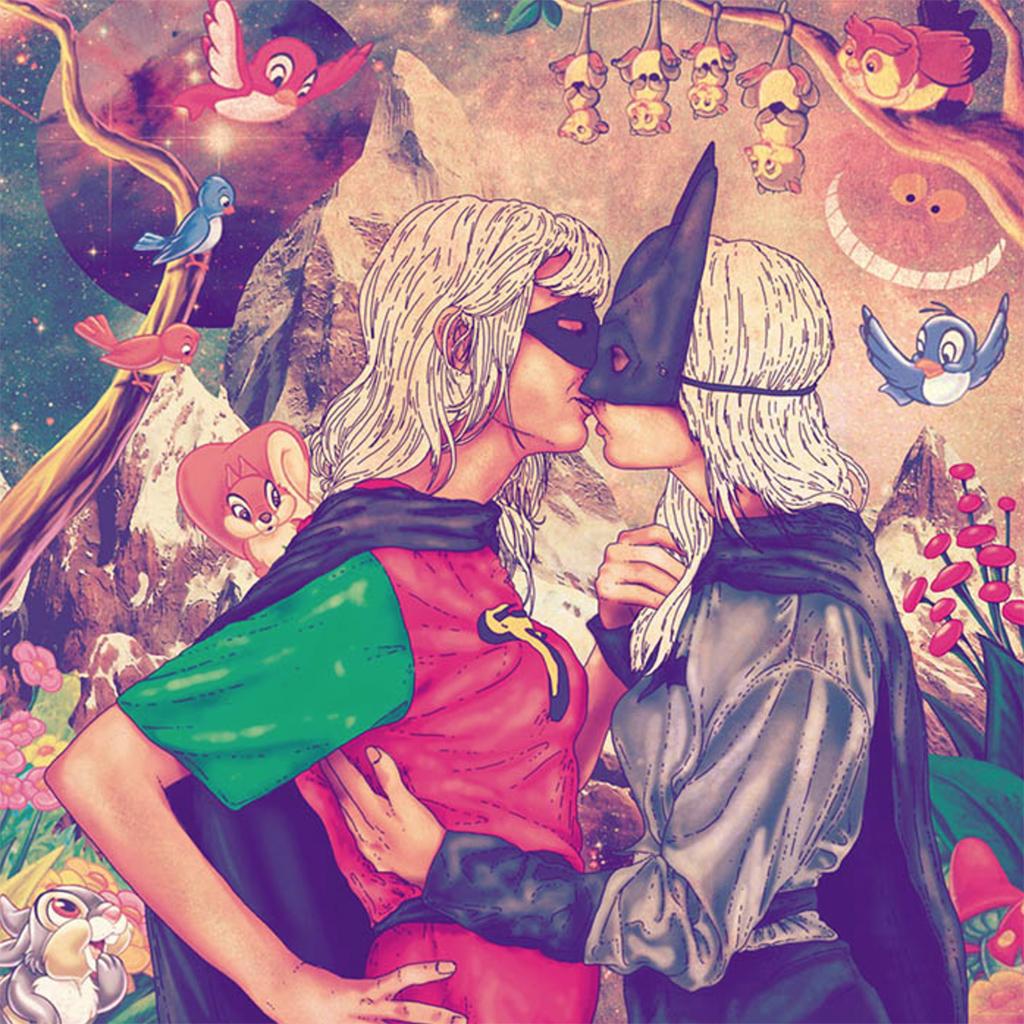 Принцессу Диану, Сальвадора Дали и Че Гевару одели как хипстеров и заставили слушать рок