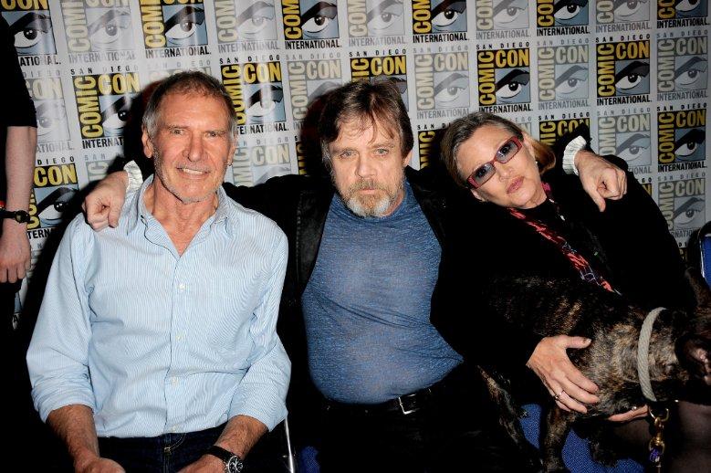 Star Wars.The Force Awakens. Звёздные войны. Пробуждение силы. 2015 Форд Харрисон Кэри Фишер Марк Хэммил
