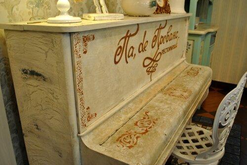 старинная мебель декупаж