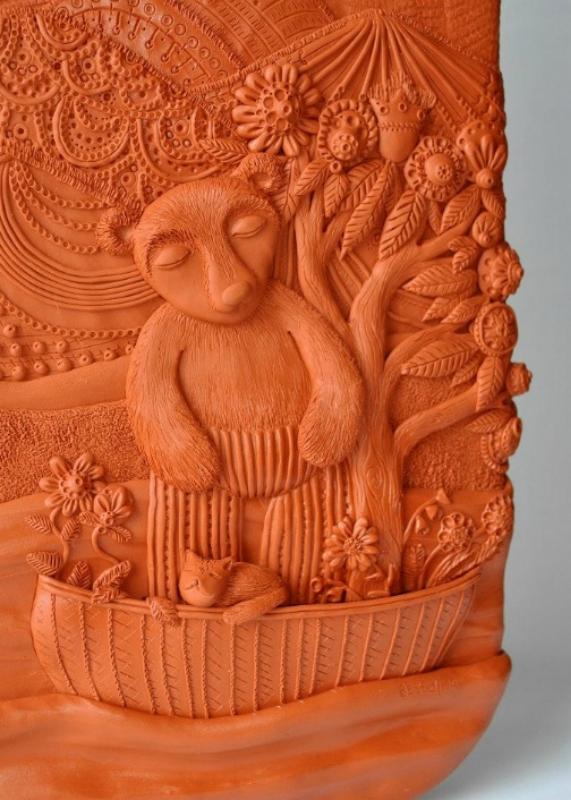 Иллюстрации из полимерной глины