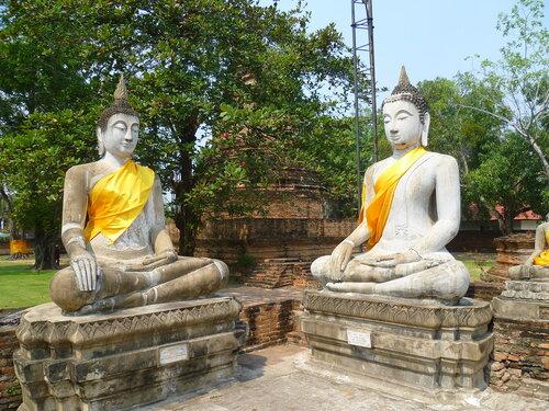 Таиланд, Аюттайя - Ват Яй Чай Монгкон (Thailand, Ayutthaya -  Wat Yai Chai Mongkhon)