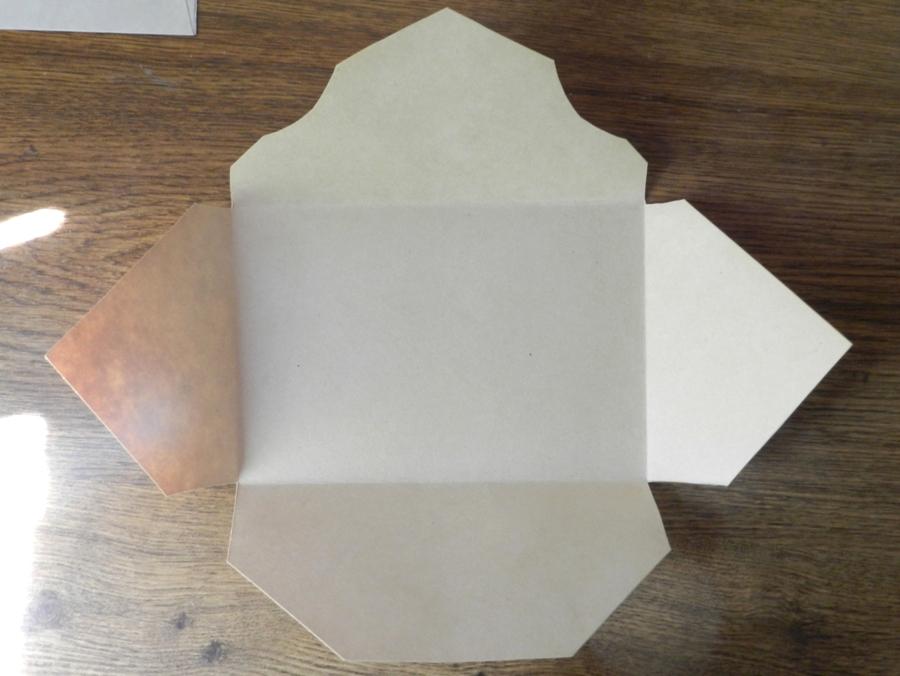 Как сделать конверт из хогвартса своими руками