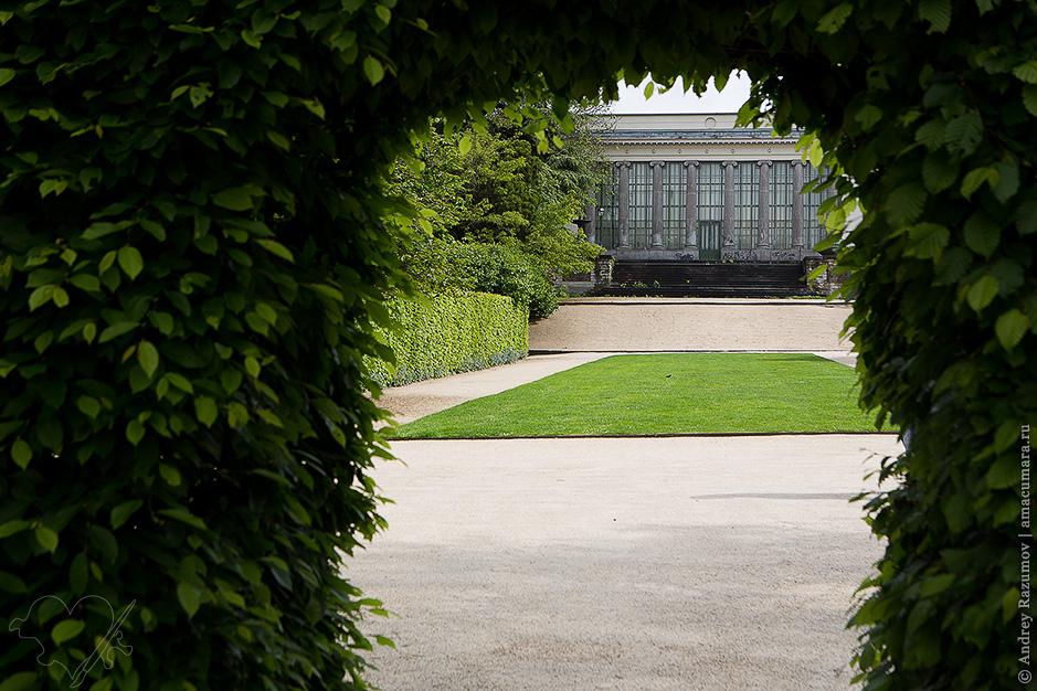 Ботанический сад Le Botanique Брюссель