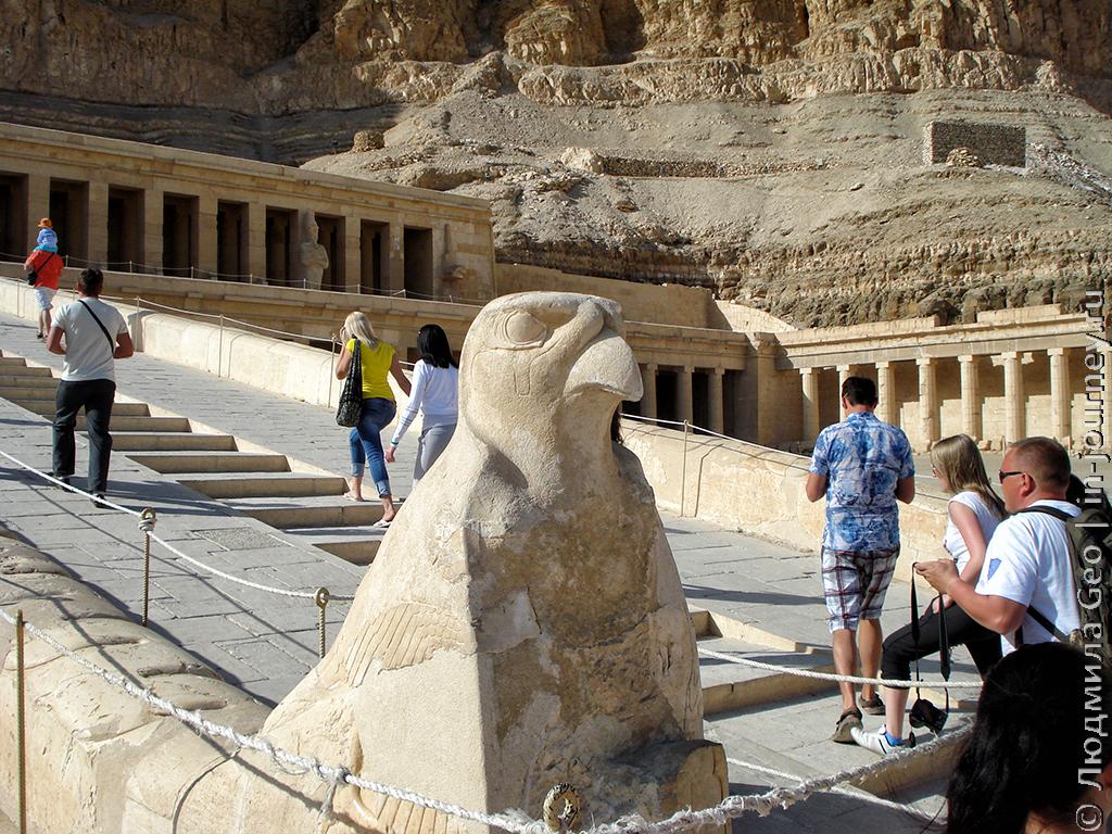 сторож храма Хатшепсут