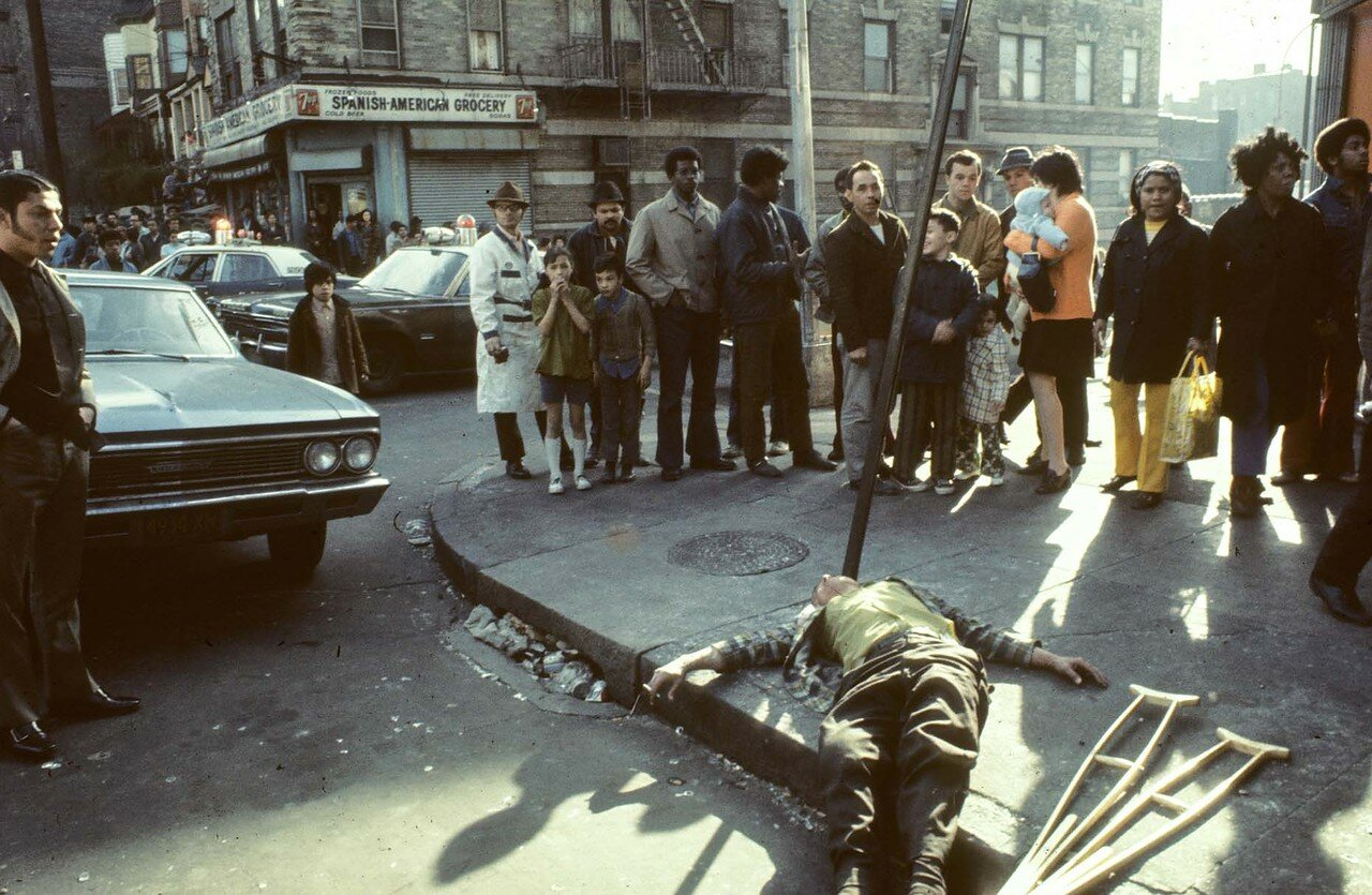 Южный Бронкс. Хойя-авеню у 172-ой улицы,