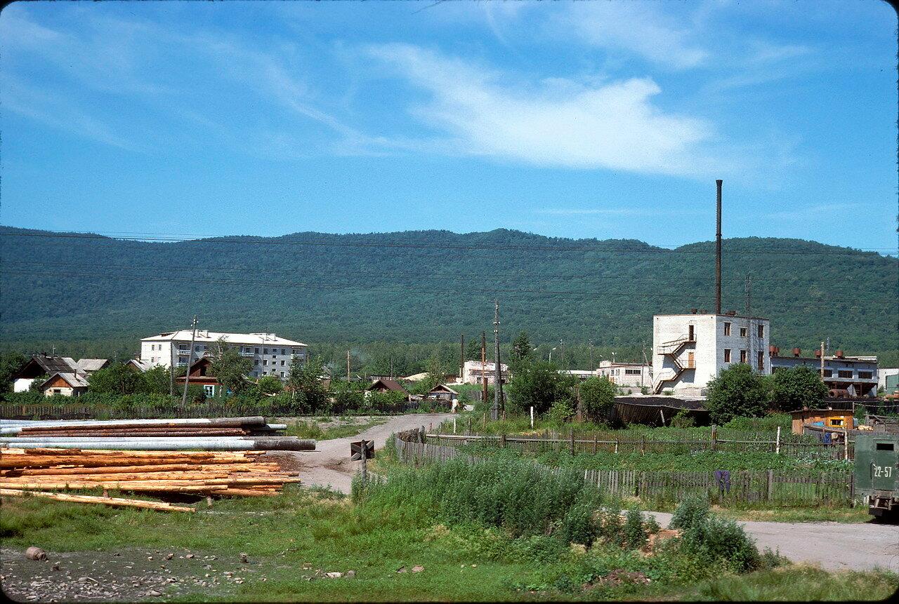 На окраине Хабаровска