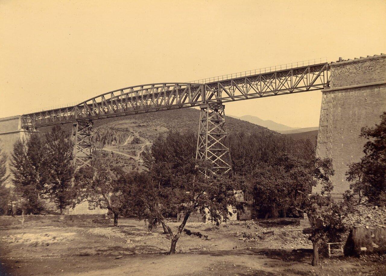 Воздушный мост через реку Муртига