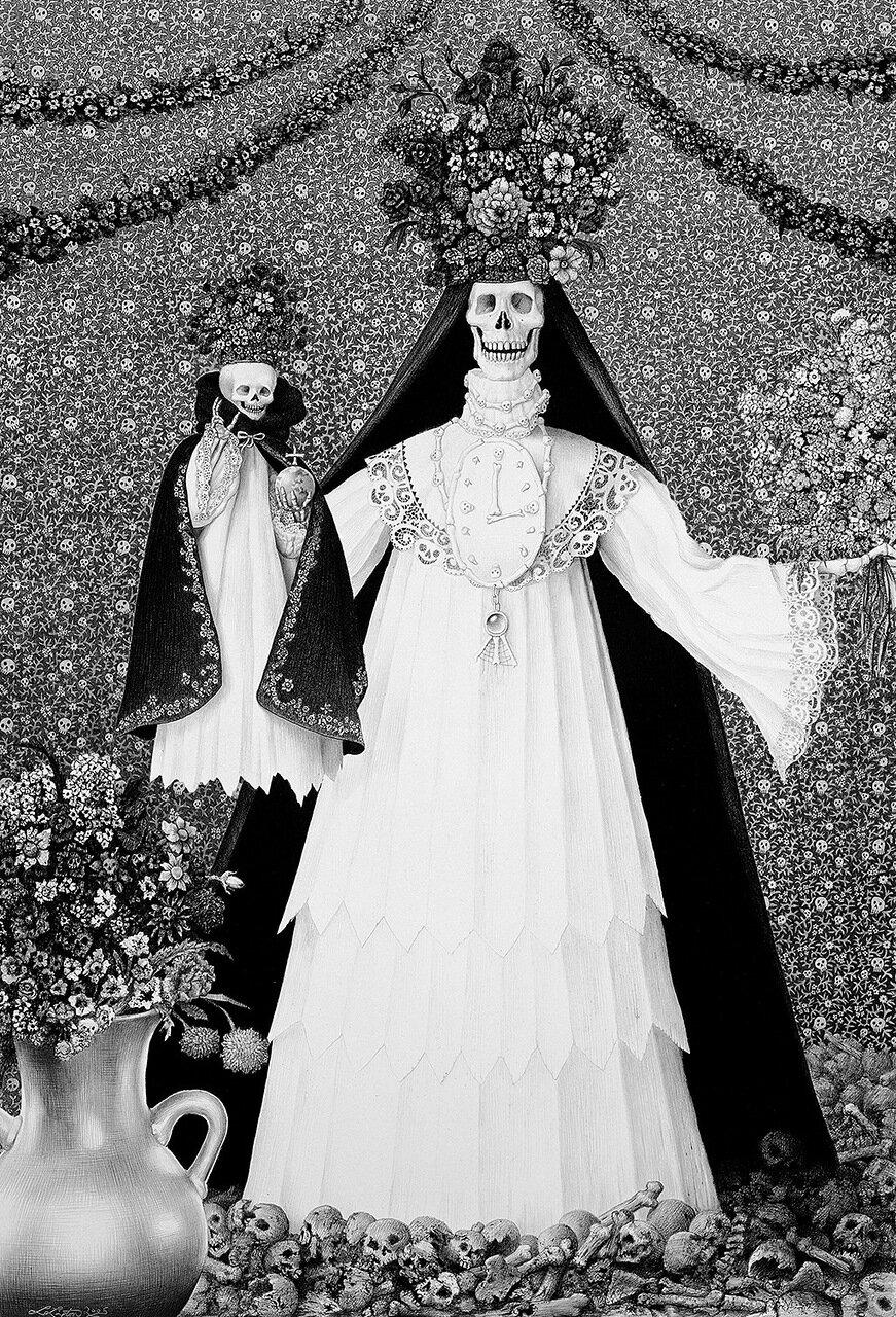 Мадонна священных костей. 2005