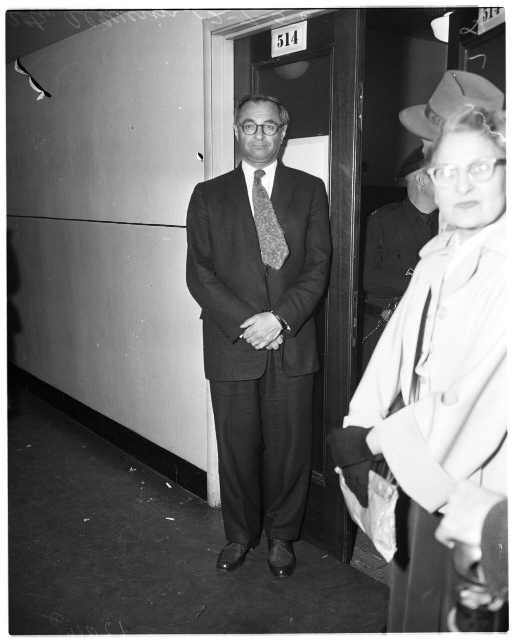 1956. 7 декабря. Комиссия по расследованию антиамериканской деятельности. Адвокат Эль Верин