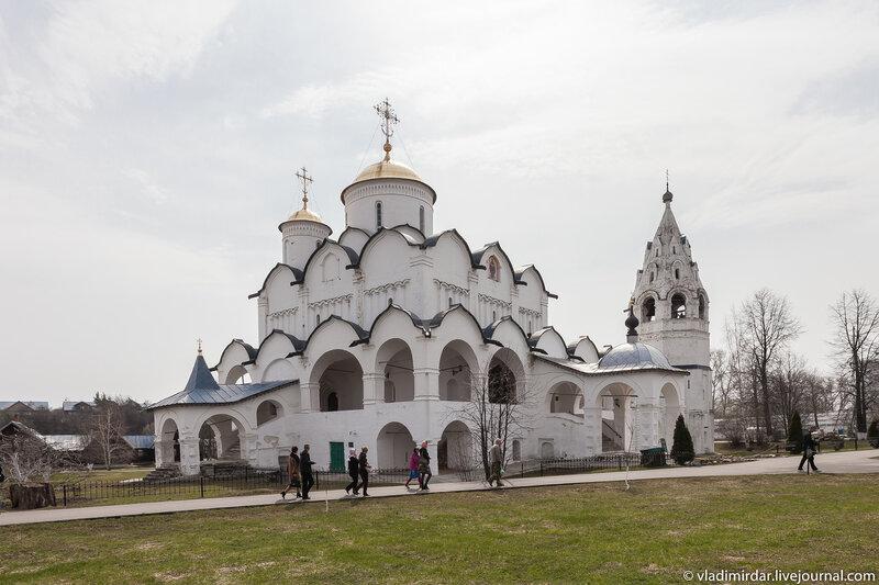 Покровский собор. Суздальский Свято-Покровский монастырь.