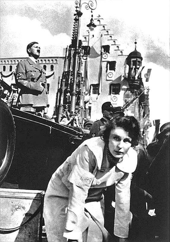 Гитлер и Лени Рифеншталь.  Leni Riefenstahl