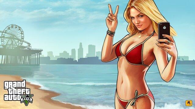 дебютный видеоролик с демонстрацией игрового процесса Grand Theft Auto V