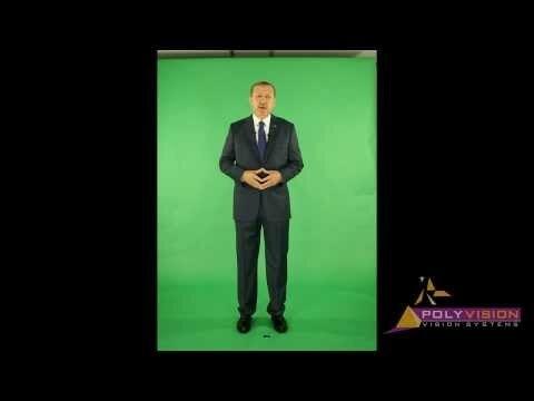 Турецкий премьер-министр выступил с речью при помощи голограммы (видео)
