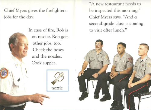 В пожарные женщин не берут?