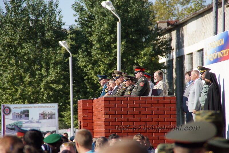ОТИИ, День танкиста-2012, командование, Омск