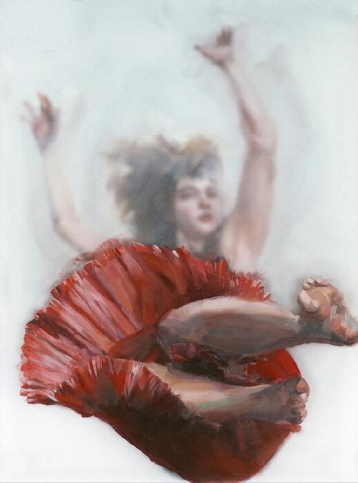 Michelle Jader. Неизбежность падений в неизвестность жизненных перемен. Серия «Leaps and Bounds».