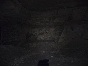 Фонарь ZebraLight H600w в среднем режиме светит так