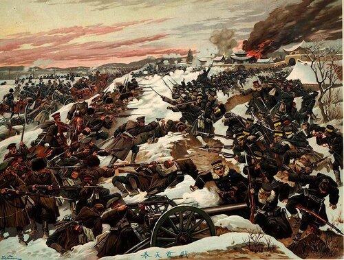 эпизоды русско-японской - Искусcтво на тему войны