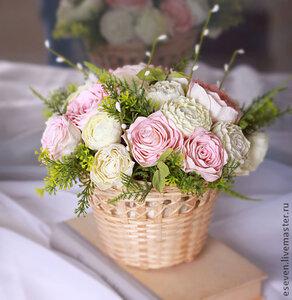 Интерьерная композиция из роз