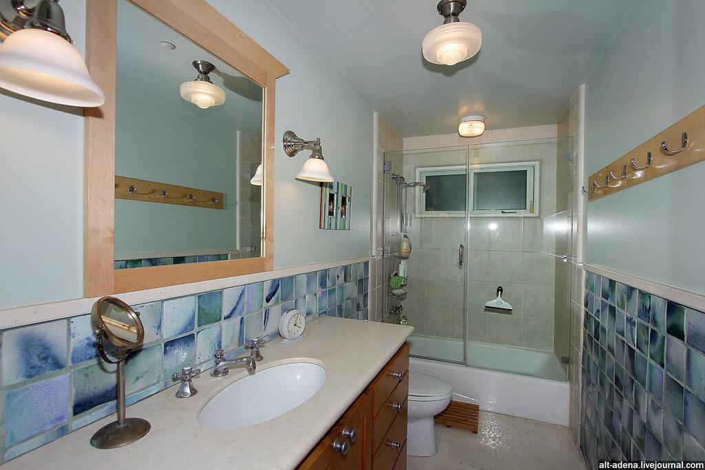 стеклянная штора для ванной