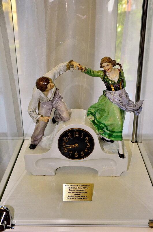 Часы каминные XIX века. Германия.