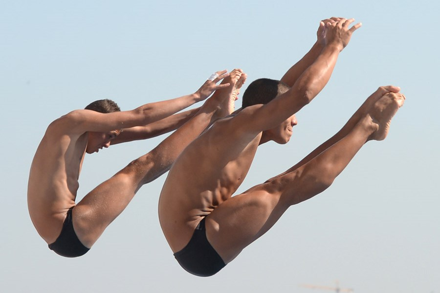 Эффектные фотографии с чемпионата мира по плаванию в Испании 0 e55d3 68db5807 orig