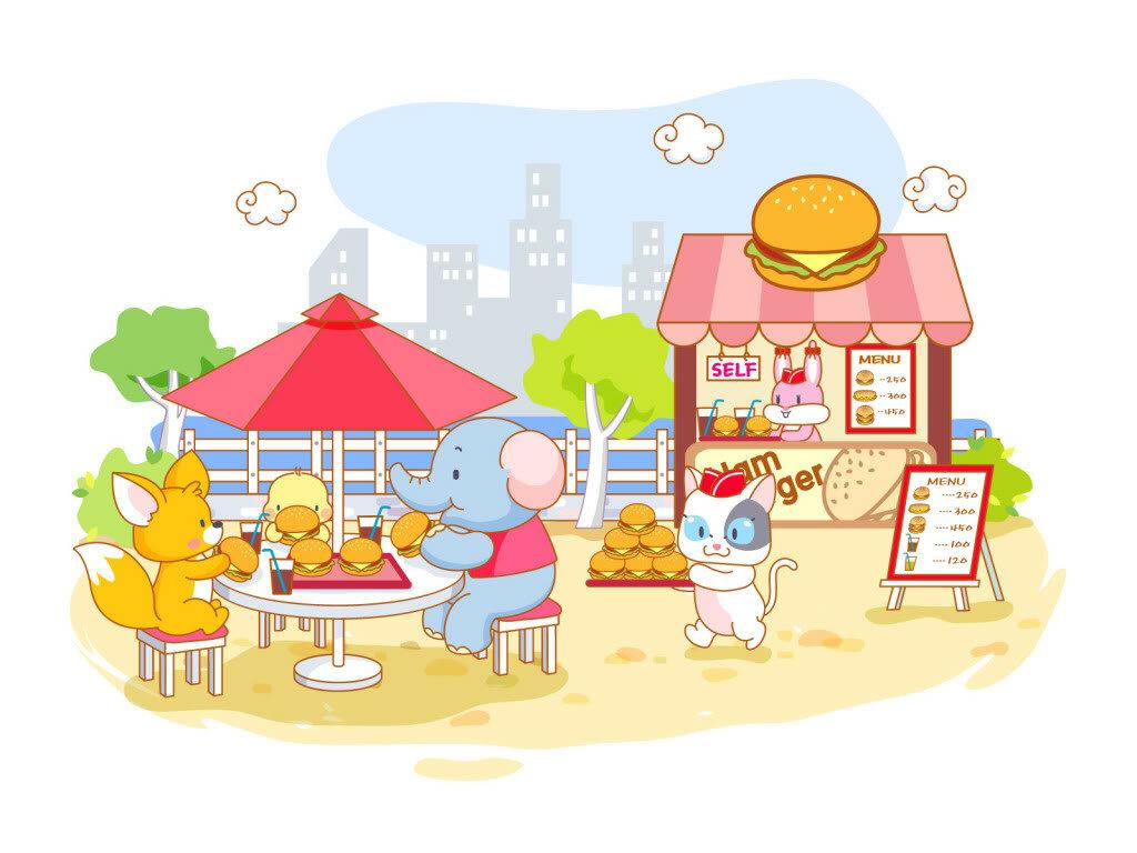 Картинки для кафе детского сада
