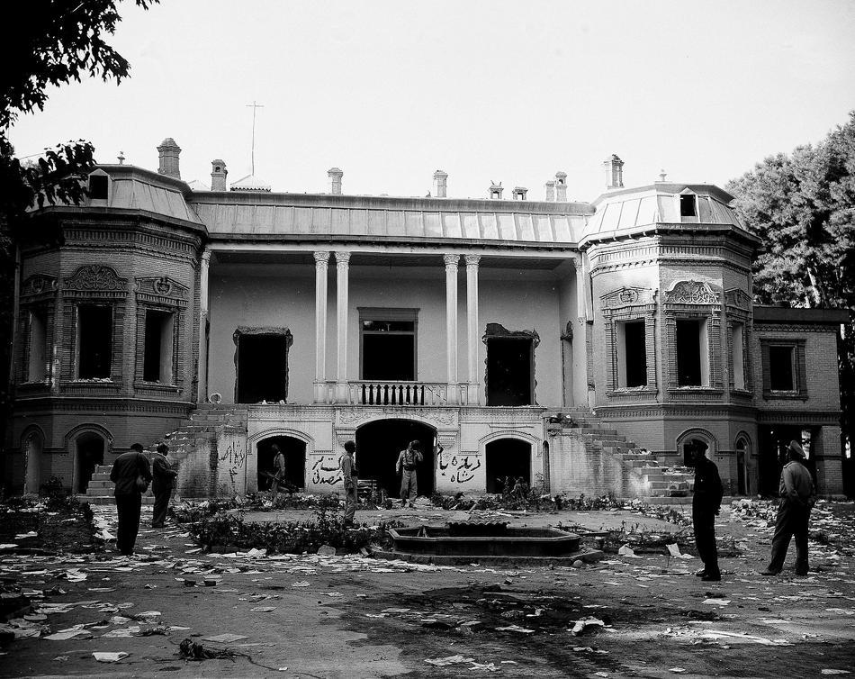 IRAN RIOT AFTERMATH 1953