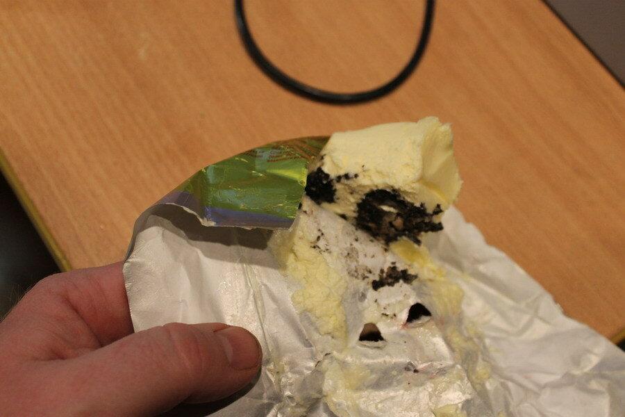 Кировское маслице с плесенью.
