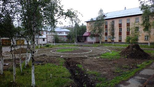 Фото города Инта №5318  Кирова 36а и Социалистическая 4а 30.07.2013_13:13