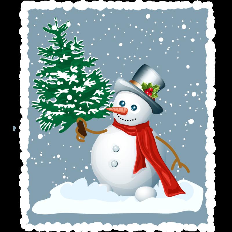 Картинки открытки снеговика для детей