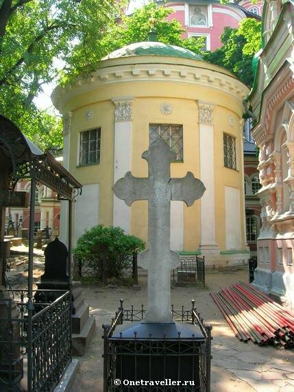 Храм преподобного Александра Свирского в Донском монастыре в Москве (1796-1798 гг.)