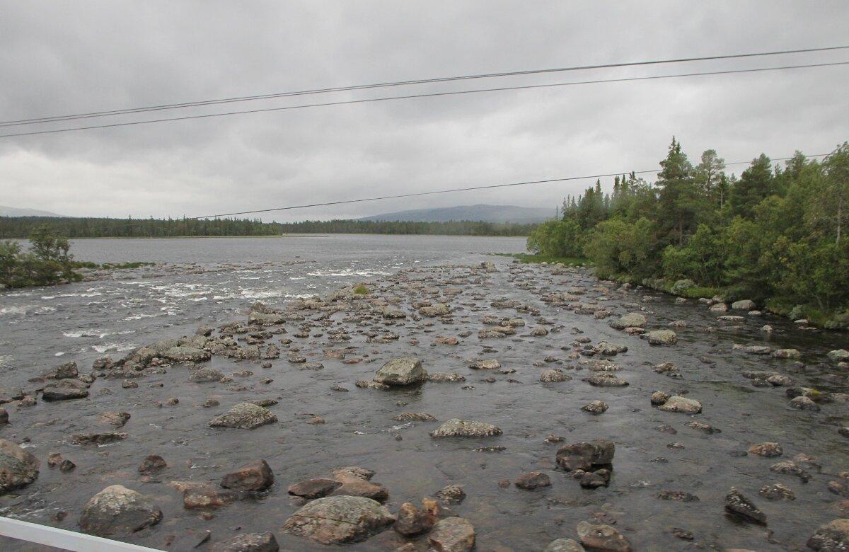 Западная Швеция. Озеро Storån-Österdalälven