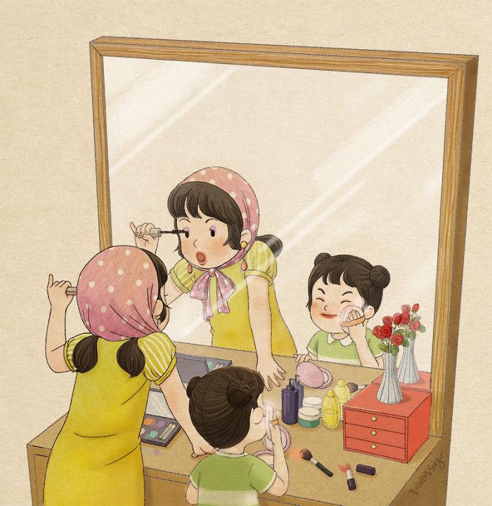 Самые милые комиксы про связь между сестрами