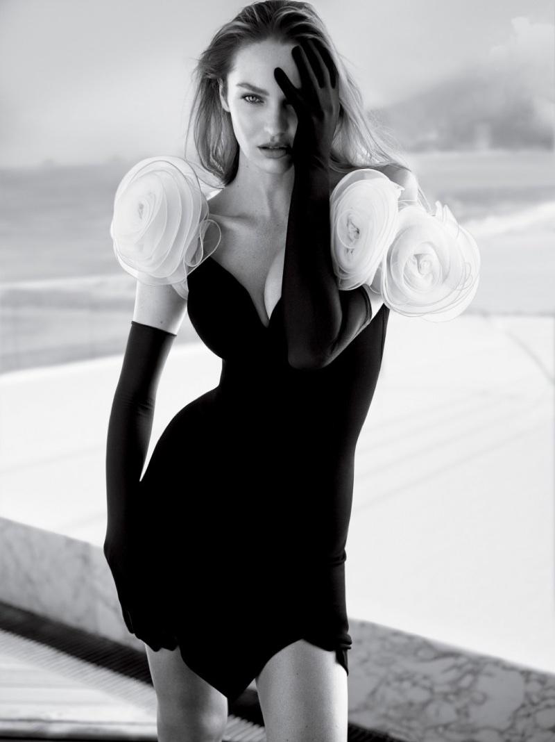 Кэндис Свейнпол для Vogue Brazil (8 фото)