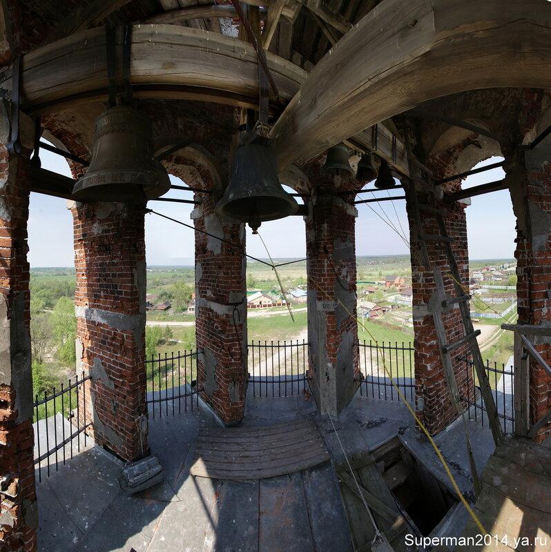 Кудыкина гора - колокольня Храма Рождества Пресвятой Богородицы