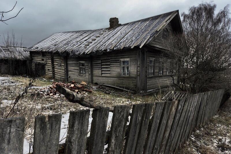 Заброшенные Дома Русского Севера