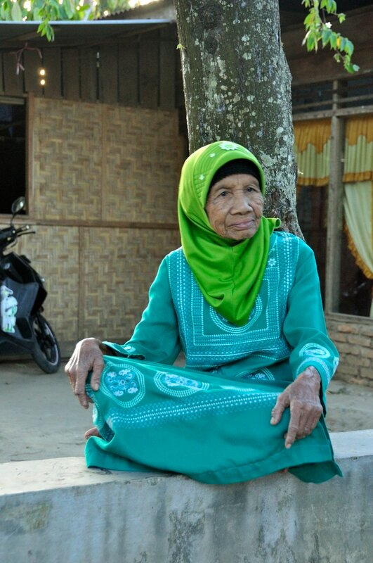 Бабушка из Западной Суматры