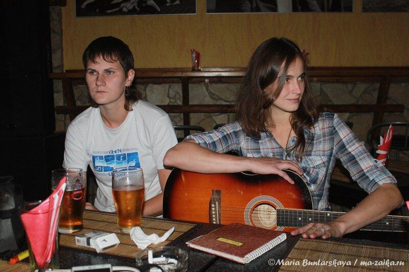 Арт-вечер в Honky Tonk, Саратов, 27 июля 2013 года