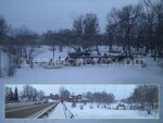Мост на винтовых сваях через реку Трубеж г. Переславль-Залесский