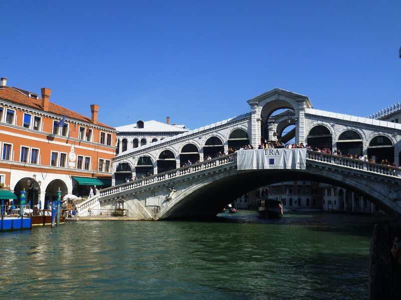 Италия. Венеция. Мост Риальто. (Italy. Venice. Rialto Bridge)