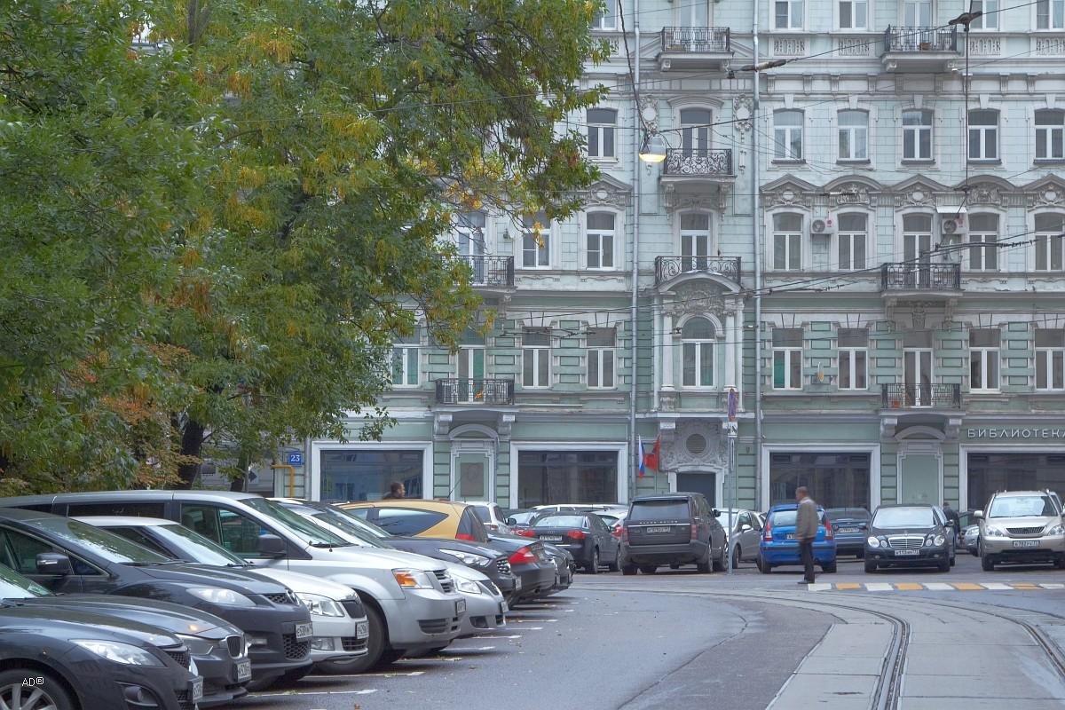 Бывший доходный дом Н.Д. Телешова