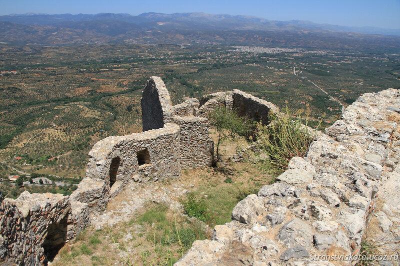 Пелопоннес, замок-крепость Мистрас