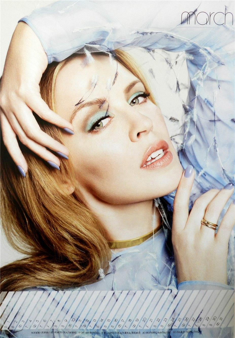 календарь Кайли Миноуг / Kylie Minogue - calendar 2014