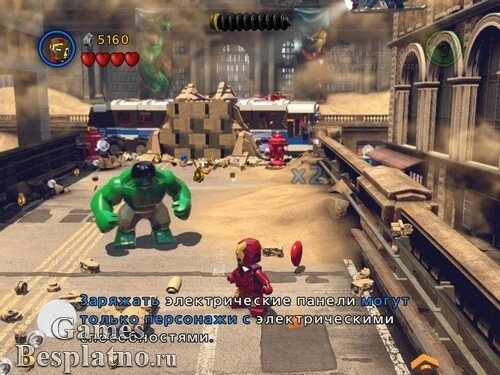 Лего Марвел Супергерои / LEGO Marvel Super Heroes