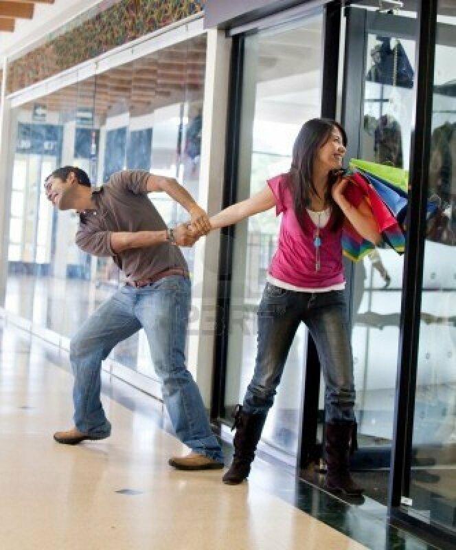 Мужчины устают от шопинга уже через 26 минут