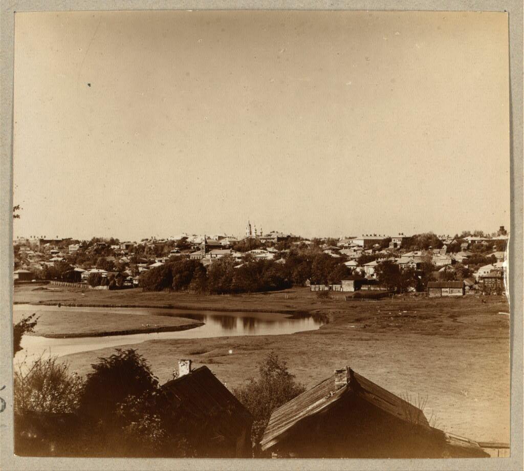 Город Кинешма и речка Кинешемка. 1910
