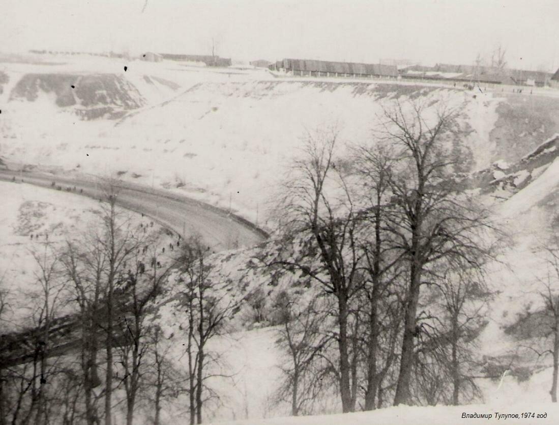 1974. Оползень на Окском съезде