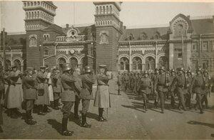 Военный парад в Екатеринославе. Май 1918.